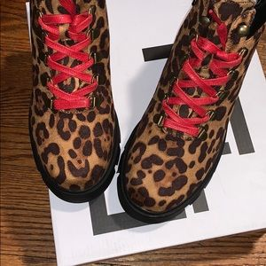 Leopard Print Boot